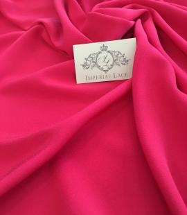 Fuchsia pink silk fabric