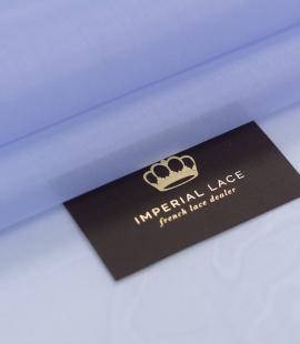 Blue with grey shade silk organza fabric