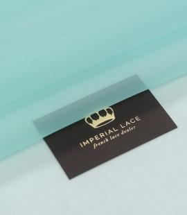 Tiffany green silk organza fabric