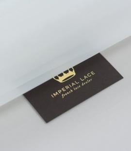 White crinoline fabric