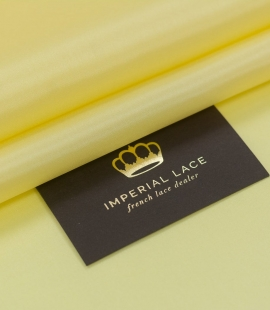 Yellow silk lining fa...