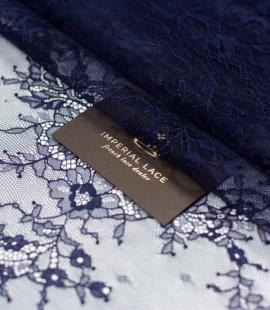 Dark blue chantilly l...
