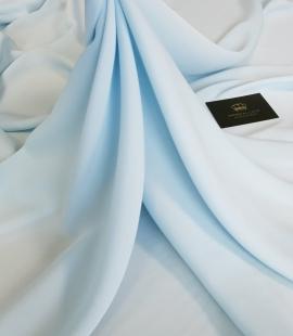 Light blue silk fabric