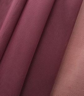 Bordo red tulle fabric