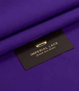 Vibrant lilac silk duchess fabric