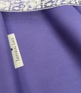 Lilac wool fabric