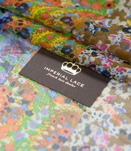 Multicolor floral sil...