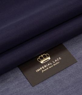 Lilac blue thick silk organza fabric