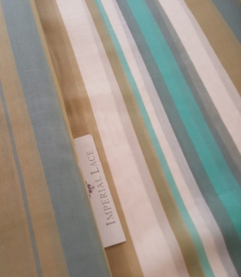 Multicolored cotton fabric