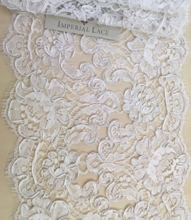 Bright white Lace Trim