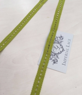 Green trimming lace fabric