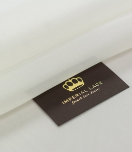 Ivory silk satin organza fabric