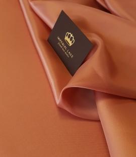 Brick color cupro 100% viscose lining fabric