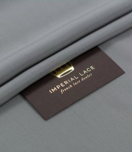 Grey greenish Mulberry silk crepe fabric