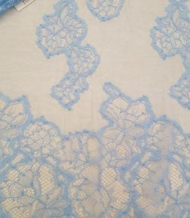 Light blue Lace Fabric
