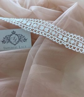 Skin color tulle fabric