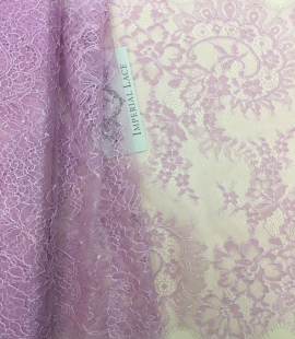 Violet lace trim