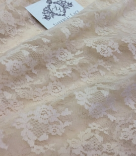 Nude lace fabric