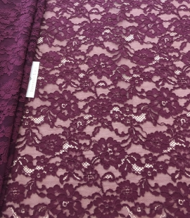 Lilac lase fabric