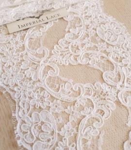 White Lace Trim French Lace
