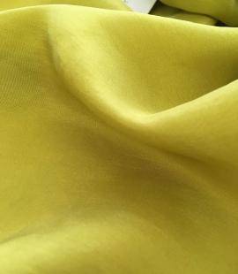 Mustard green lining fabric
