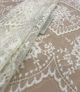 Lace fabric Champagne