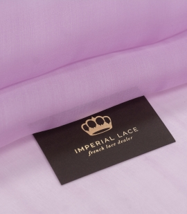 Light lavander lilac silk organza fabric
