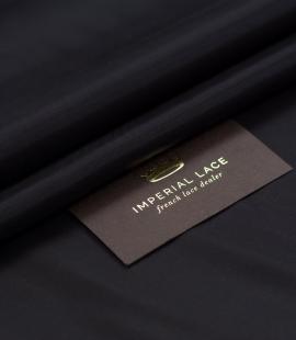 Black Cupro viscose lining fabric