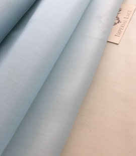 Light blue silk organza fabric