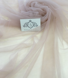 Old rose tulle fabric