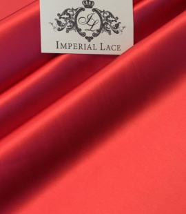 Red elastic polyster fabric