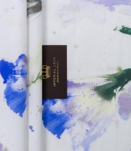 Mikodo polyester multicolor printed fabric