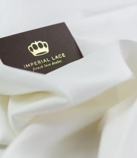 Snowwhite Cadi silk with cotton and elastane