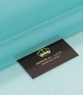 Tiffany blue silk organza fabric