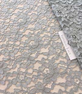 Pistachio lace fabric