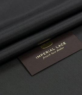 Graphite grey silk li...