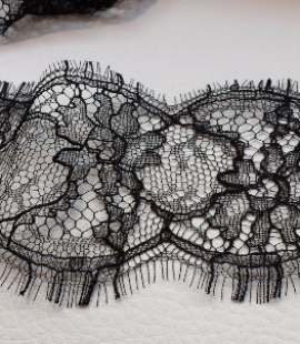Solstiss black Lace trim