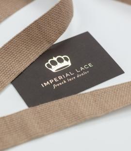 Brown lana wool ribbon