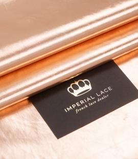 Bronze color shiny rain coat fabric