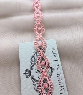 Light Pink macrame lace trim