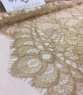 Bush Gold lace fabric