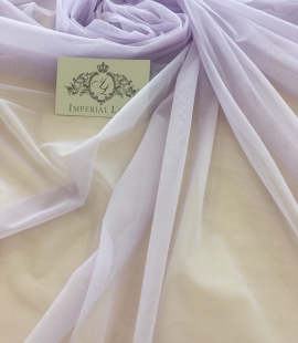 Lilac tulle fabric