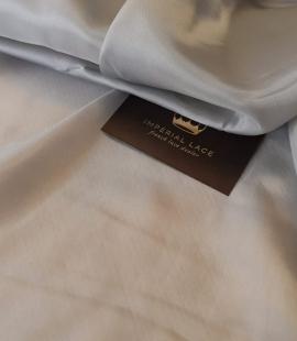 Grey cupro viscose lining fabric