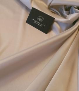 Beige viscose and elastane lining fabric