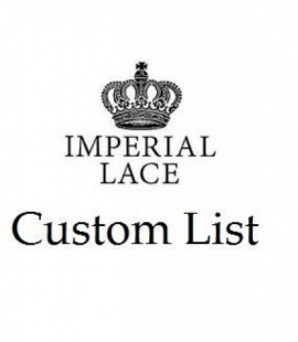 Custom list for YAOVIE