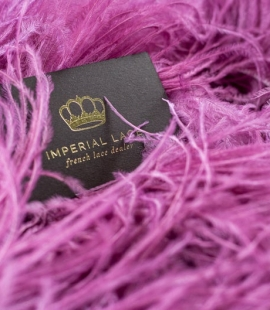Raspberry pink natural ostrich feather