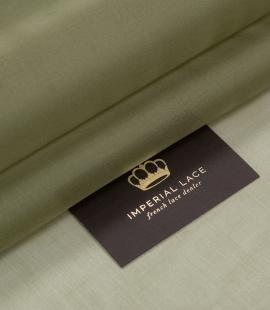 Olive green silk organza fabric