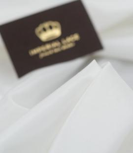 Ivory acetate with elastane lining fabric