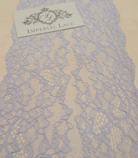 Blue Lace Trim
