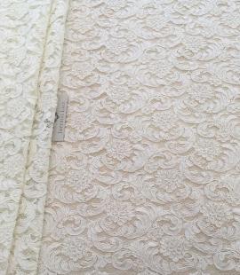 Bridal ivory lace fabric